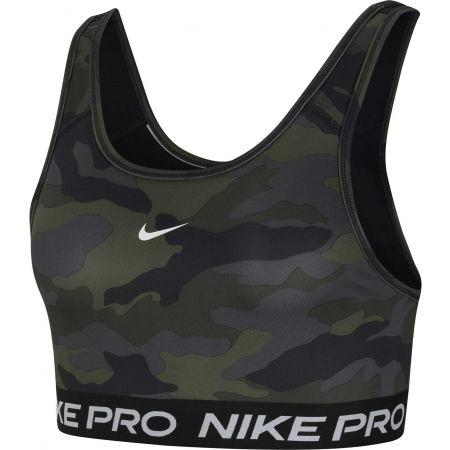 Nike SWOOSH BRA CAMO PRT - Dámská sportovní podprsenka