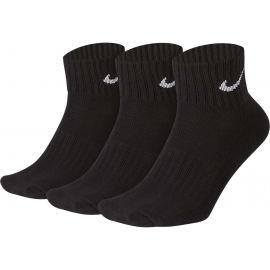 Nike 3PPK VALUE COTTON QUARTER - Športové ponožky