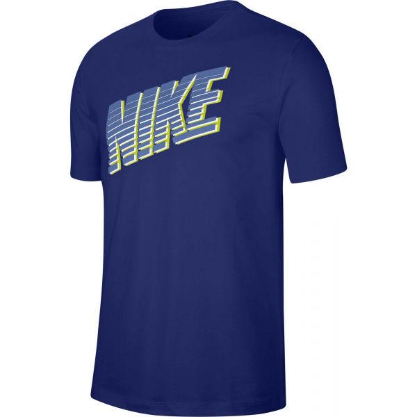 Nike NSW TEE NIKE BLOCK M  L - Pánské tričko