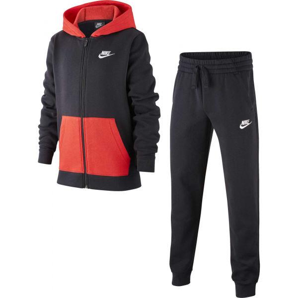 Nike NSW TRK SUIT CORE BF B  L - Fiú melegítő szett