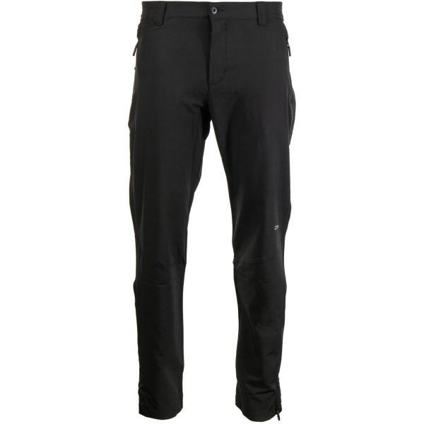 ALPINE PRO QUABIL - Pánske softshellové nohavice