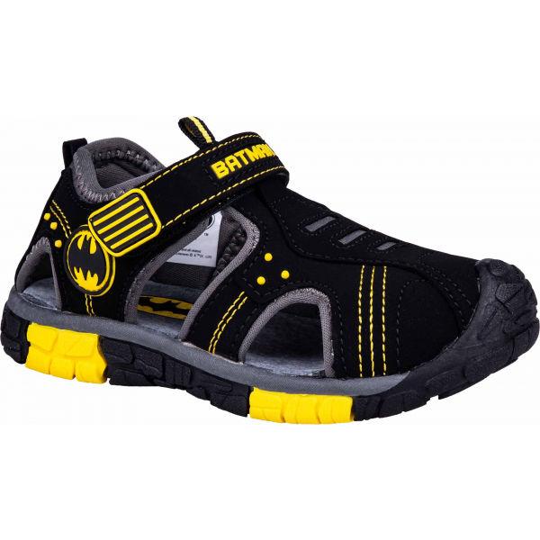 Warner Bros BATMAN žltá Detské sandále 28