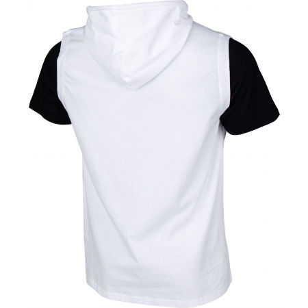 Men's T-shirt with a hood - Champion HOODED SLEEVELESS T-SHIRT - 3