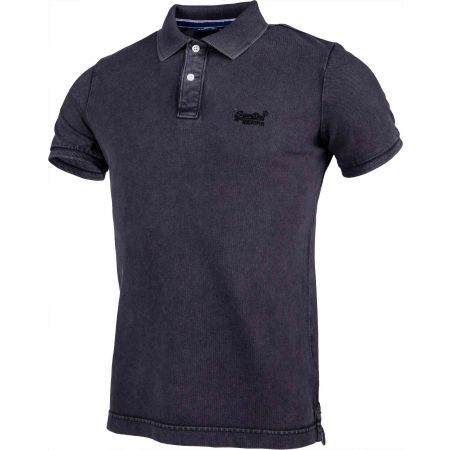 Pánske tričko polo - Superdry VINTAGE DESTROYED S/S PIQUE POLO - 2