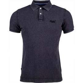 Superdry VINTAGE DESTROYED S/S PIQUE POLO