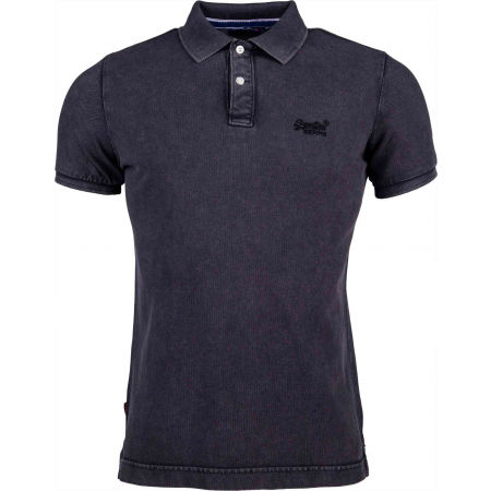 Superdry VINTAGE DESTROYED S/S PIQUE POLO - Мъжка тениска с яка