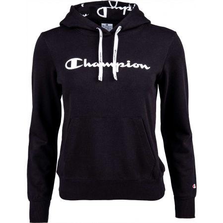 Women's sweatshirt - Champion HOODED SWEATSHIRT - 1