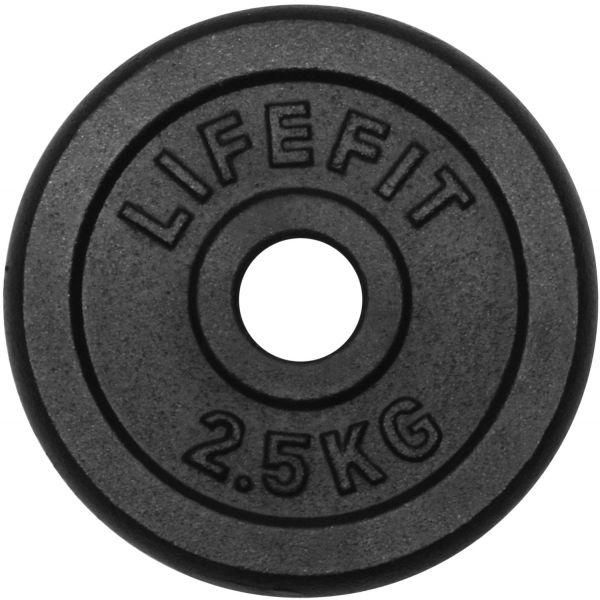Lifefit KOTOUC 2,5KG 30MM  2.5 kg - Nakládací kotouč