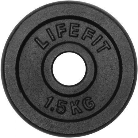 Lifefit ТЕЖЕСТ1,5KG 30MM - Тежест- кръгла