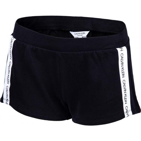 Calvin Klein SHORT černá M - Dámské šortky