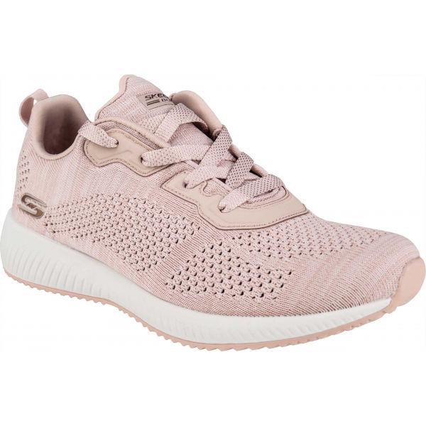 Skechers BOBS SQUAD MEGA HOT světle růžová 37.5 - Dámské tenisky