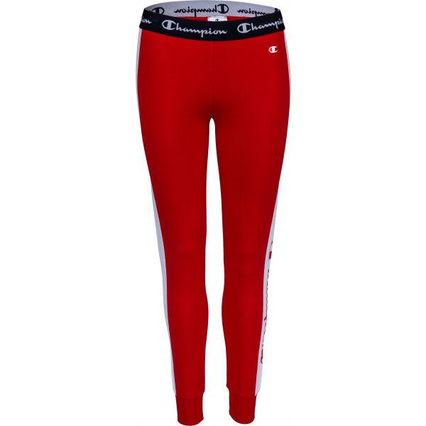 Champion SLIM PANTS červená L - Dámske tepláky