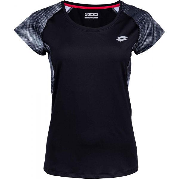 Lotto DARLA černá S - Dámské sportovní tričko