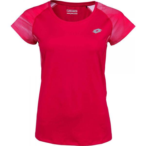 Lotto DARLA růžová S - Dámské sportovní tričko