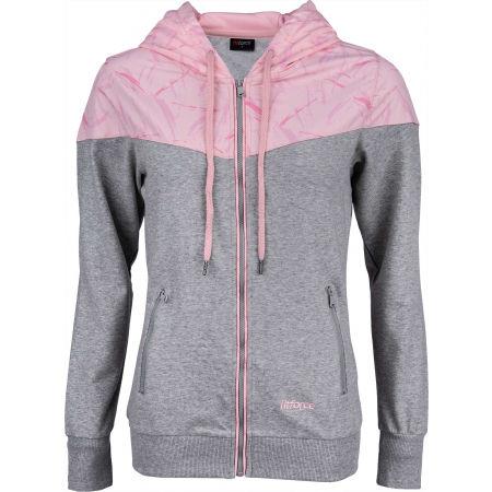 Fitforce MARGOT - Női kapucnis pulóver