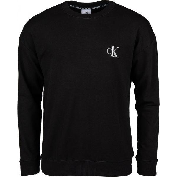 Calvin Klein L/S SWEATSHIRT černá XL - Pánská mikina
