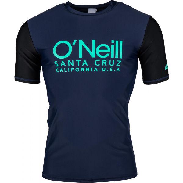 O'Neill PM CALI S/SLV SKINS czarny S - Koszulka kąpielowa męska