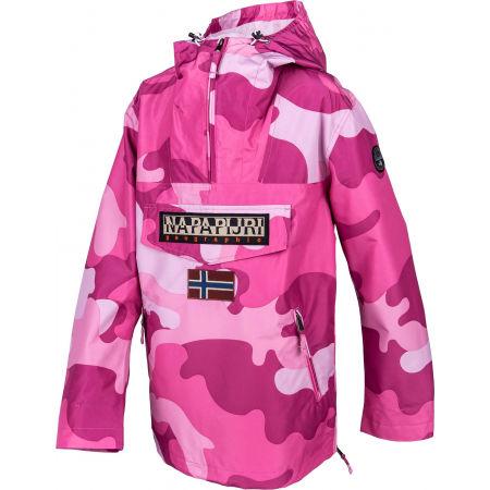 Women's jacket - Napapijri RAINFOREST S W PRT 1 PINK CAMO - 2