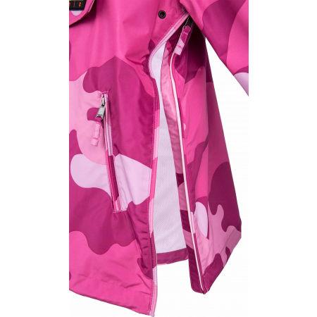 Women's jacket - Napapijri RAINFOREST S W PRT 1 PINK CAMO - 4