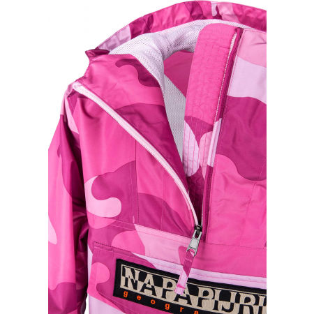 Women's jacket - Napapijri RAINFOREST S W PRT 1 PINK CAMO - 5