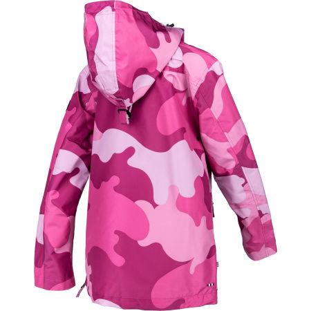 Women's jacket - Napapijri RAINFOREST S W PRT 1 PINK CAMO - 3