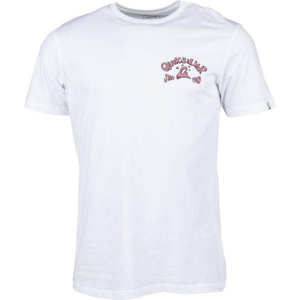 Quiksilver LULLABY BEACH SS biela XXL - Pánske tričko