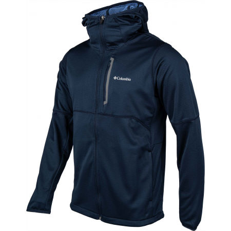 Мъжки суитшърт - Columbia TECH TRAIL FULL ZIP HOODIE - 2
