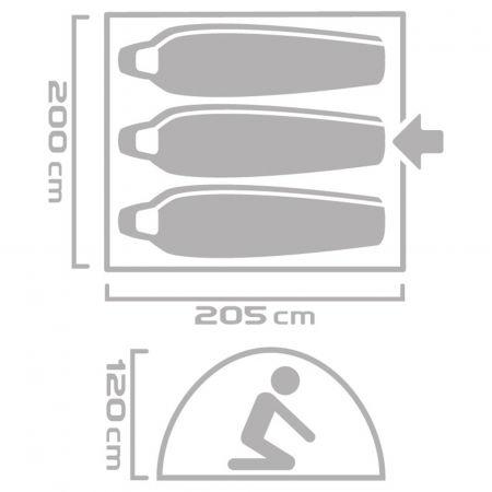 Палатка - Crossroad SAMOA 3 - 9