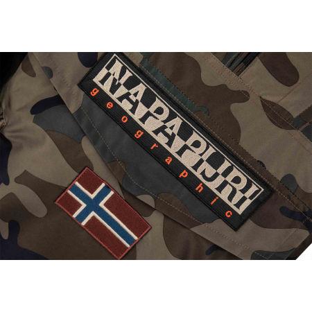 Men's jacket - Napapijri RAINFOREST S PRINT 1 FANTASY - 4
