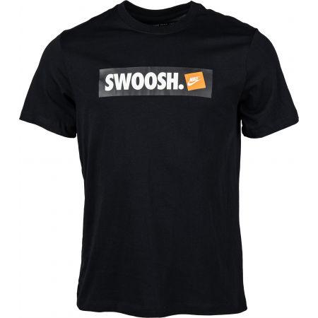 Мъжка тениска - Nike TEE SWOOSH BMPR STKR - 1