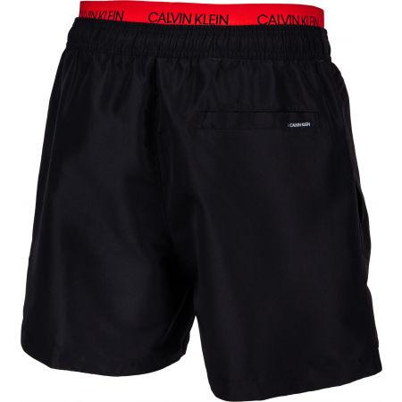 Pánske plavecké šortky - Calvin Klein MEDIUM DOUBLE WB - 3