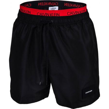Pánske plavecké šortky - Calvin Klein MEDIUM DOUBLE WB - 1
