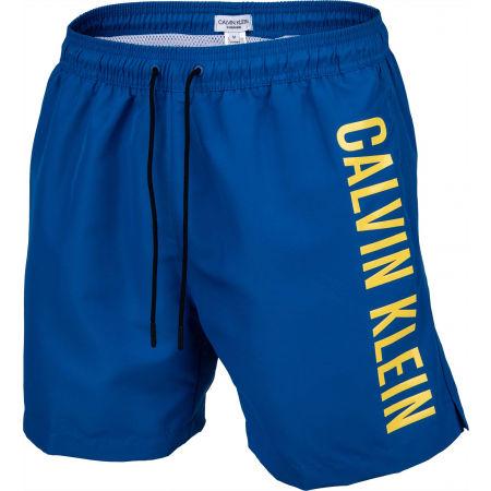 Calvin Klein MEDIUM DRAWSTRING - Pánske plavecké šortky