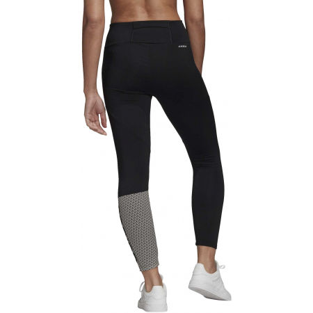 Női legging - adidas W D2M BRND TIG - 6