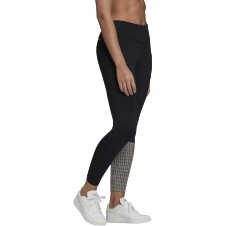 Női legging - adidas W D2M BRND TIG - 5