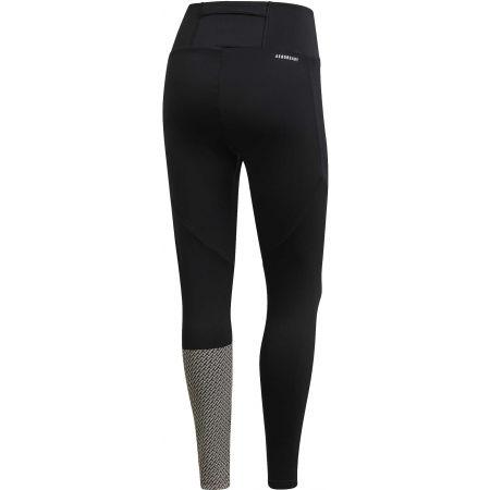 Női legging - adidas W D2M BRND TIG - 2