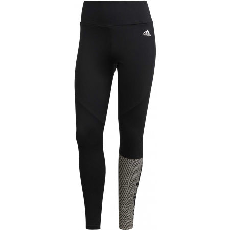 Női legging - adidas W D2M BRND TIG - 1