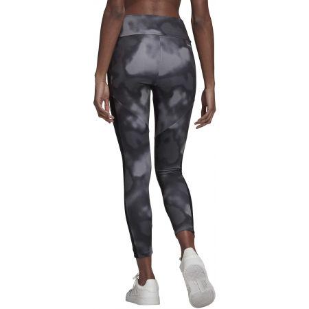 Women's sports leggings - adidas D2M AOP 78 TI - 6