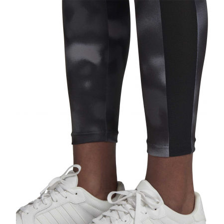 Women's sports leggings - adidas D2M AOP 78 TI - 7