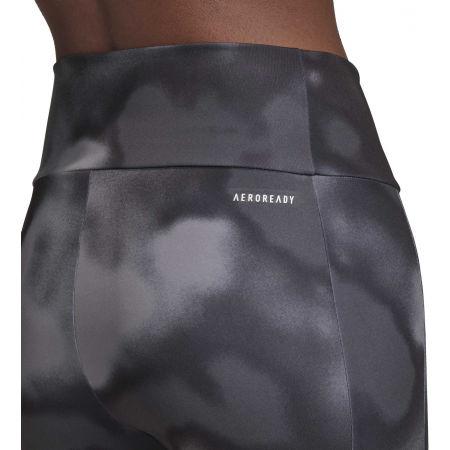 Women's sports leggings - adidas D2M AOP 78 TI - 9
