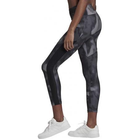 Women's sports leggings - adidas D2M AOP 78 TI - 4