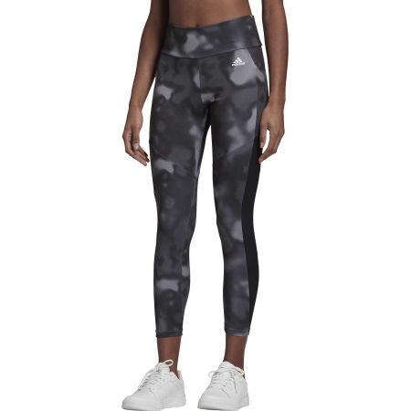 Women's sports leggings - adidas D2M AOP 78 TI - 3
