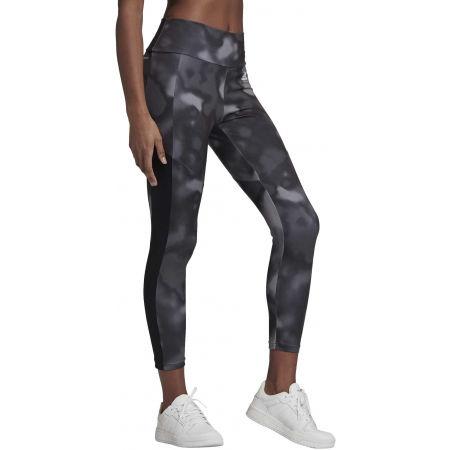 Women's sports leggings - adidas D2M AOP 78 TI - 5