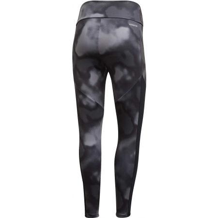 Women's sports leggings - adidas D2M AOP 78 TI - 2