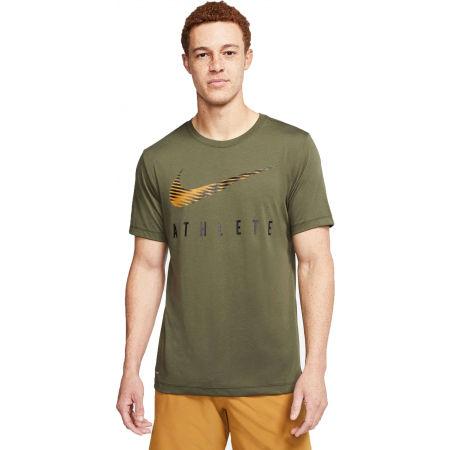 Мъжка тениска за трениране - Nike DRY TEE DB SWSH ATHLE SNL M - 4