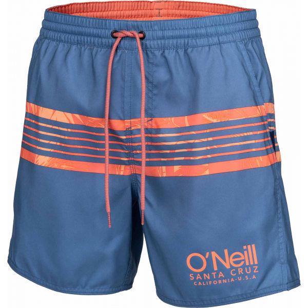 O'Neill PM CALI STRIPE SHORTS niebieski S - Szorty kąpielowe męskie
