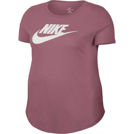 Дамска тениска - Nike NSW TEE ESSNTL FUTURA PLUS - 1