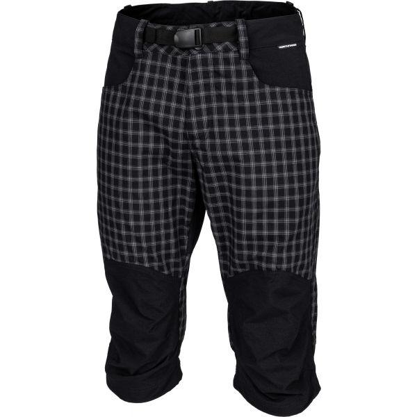 Northfinder RUDHJI černá XL - Pánské 3/4 kalhoty