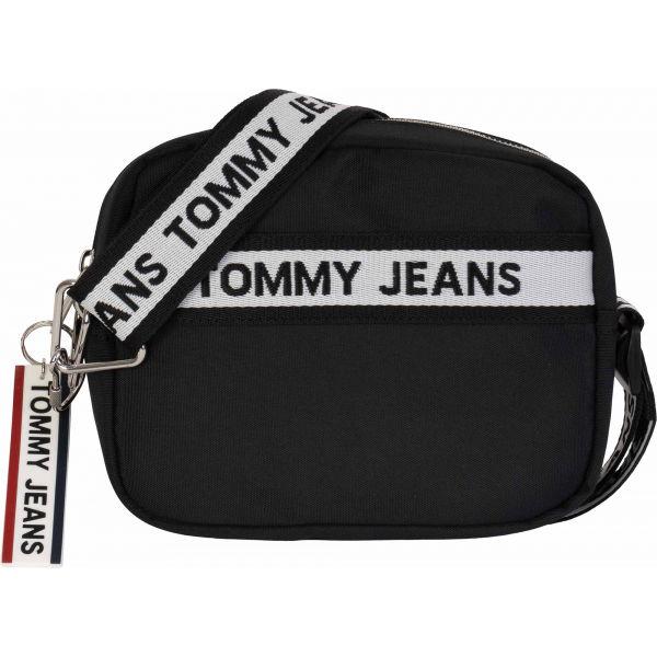 Tommy Hilfiger TJW LOGO TAPE CROSSOVER NYL černá UNI - Dámská kabelka