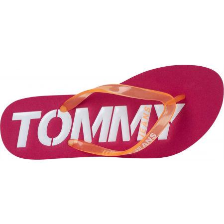 Dámske žabky - Tommy Hilfiger POP COLOR BEACH SANDAL - 5
